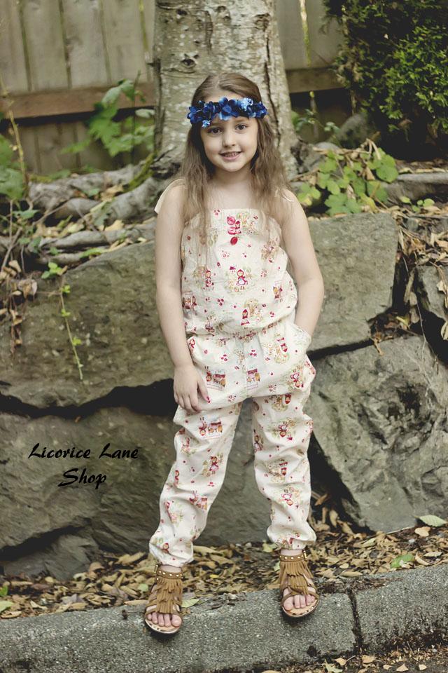 Margo's Romper Sizes 2T to 14 Kids PDF Pattern