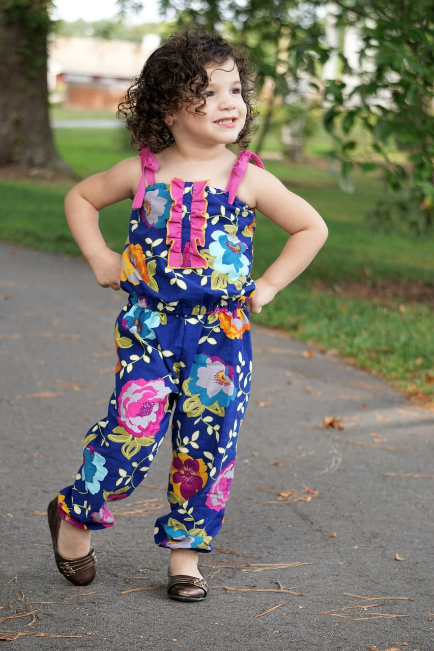 Margo's Romper Sizes 2T to 14 Kids PDF Pattern
