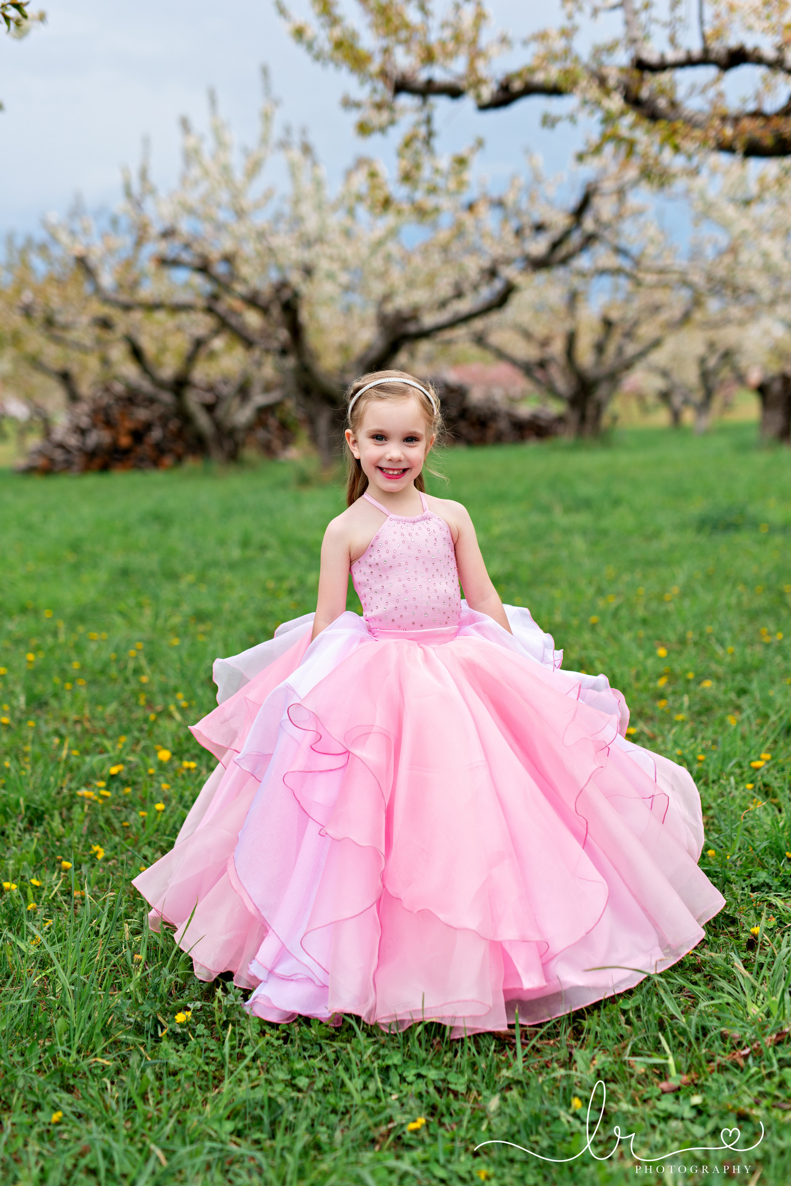 Diamond's Dazzling Dress Sizes 2T to 14 Kids PDF Pattern