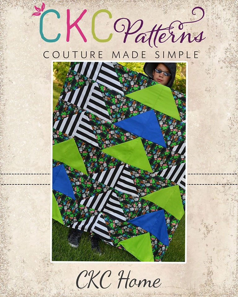 Florencia's Flying Geese Quilt PDF Pattern