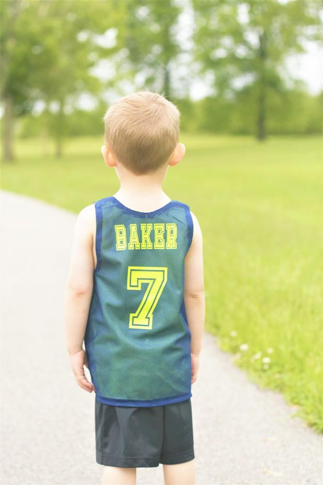 Stockton's Reversible Practice Jersey Sizes 2T to 14 Kids PDF Pattern