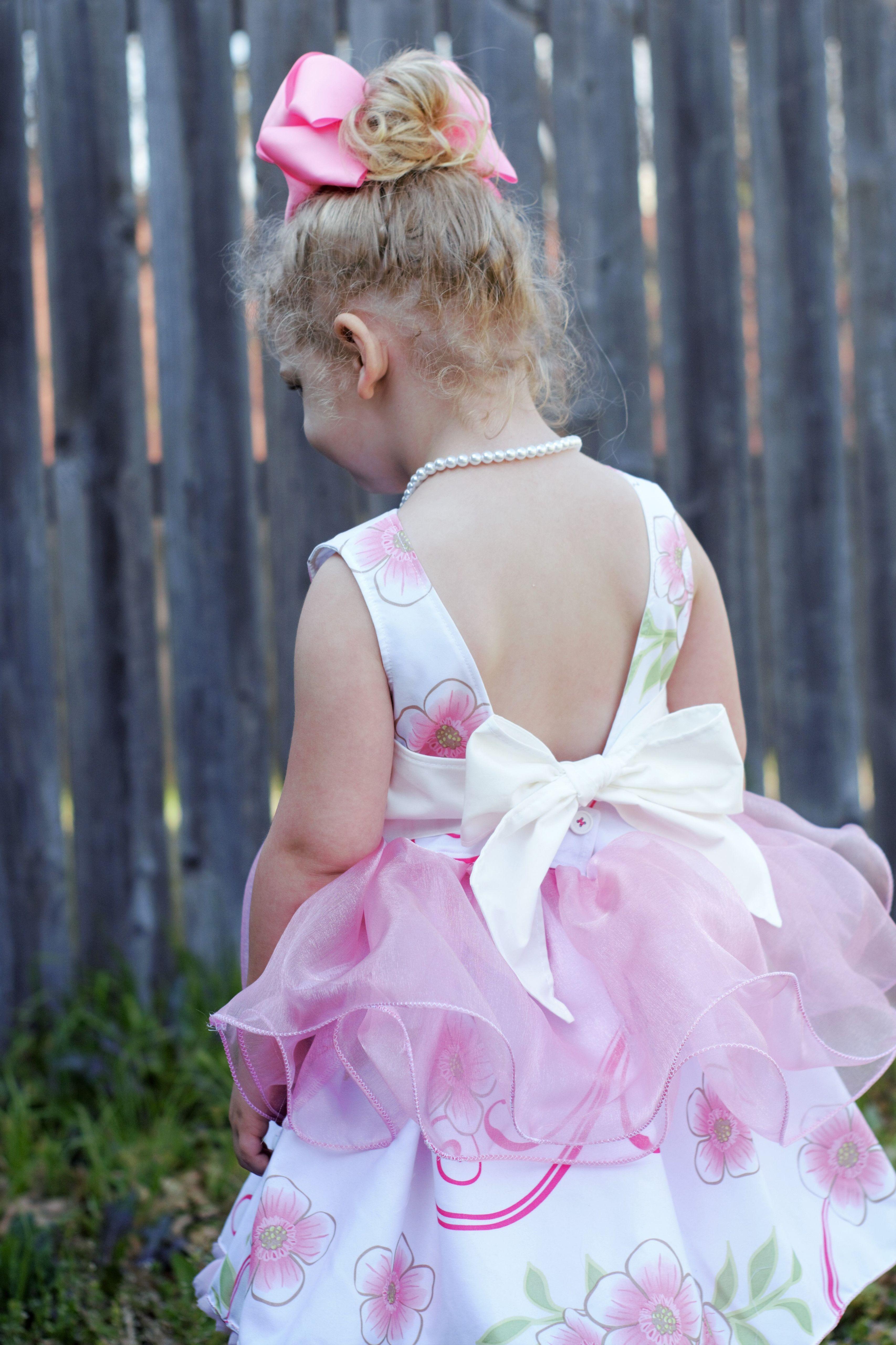 Janelys' Dress Sizes 2T to 14 Kids PDF Pattern