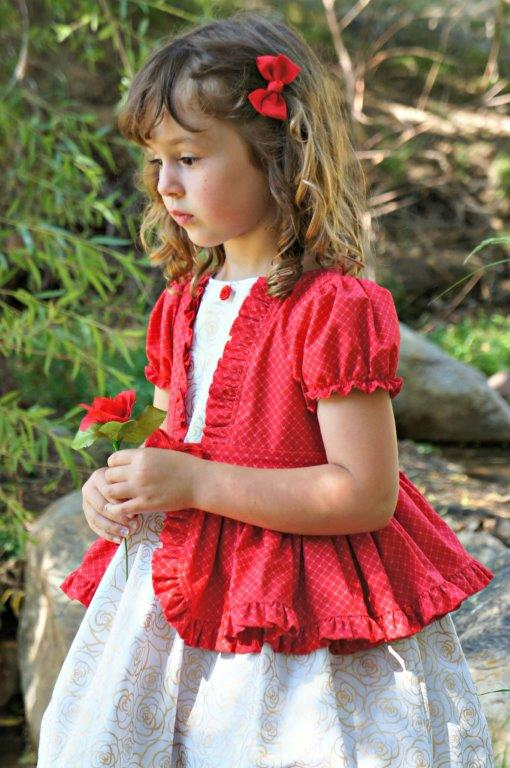 Sable's Teatime Dress Sizes NB to 14 Kids PDF Pattern