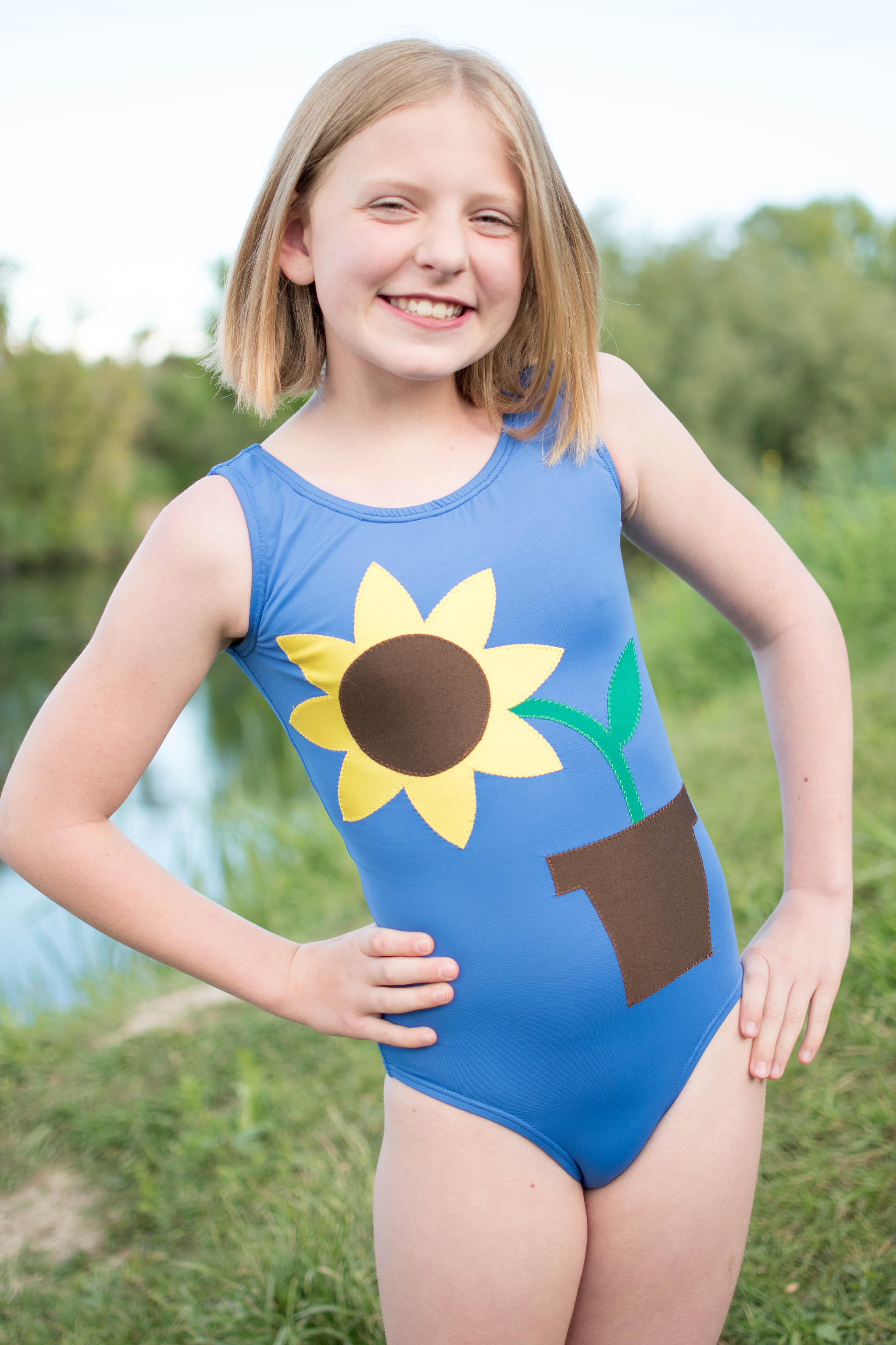 Shore's Simple Swim Sizes NB to 14 Kids PDF Pattern