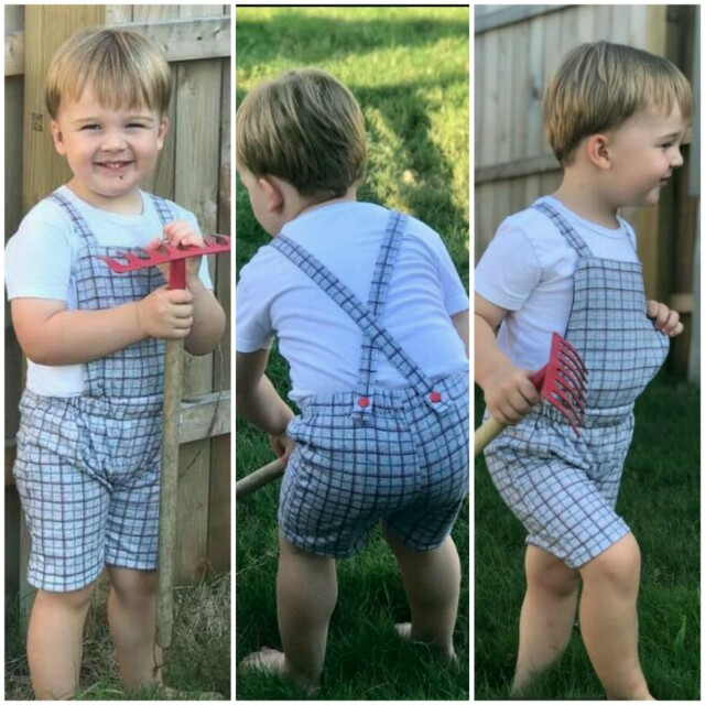 Rueben's Romper Sizes NB to 5T Kids PDF Pattern