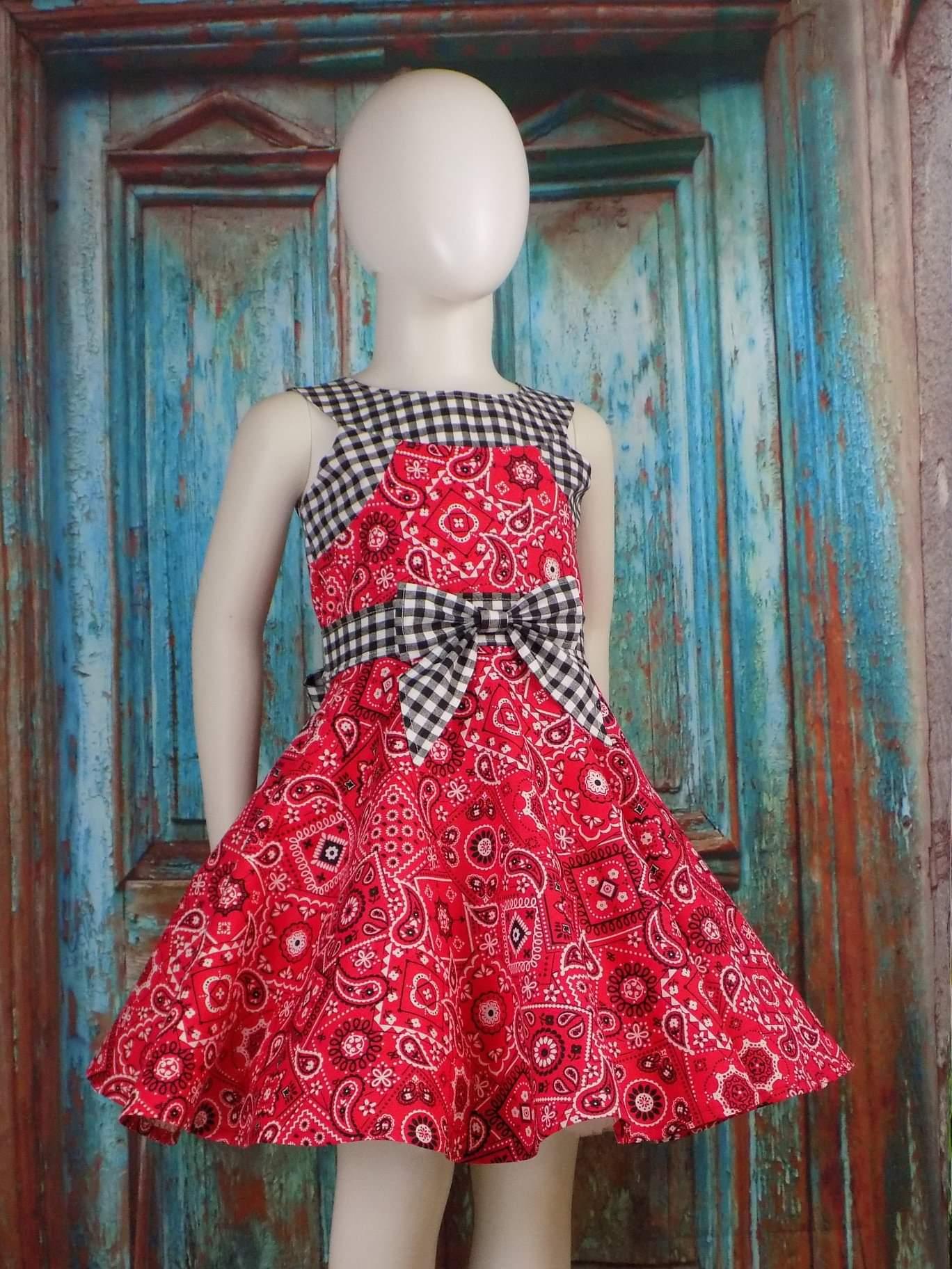 Amethyst's Amazing Yoke Dress Sizes NB to 14 Kids PDF Pattern