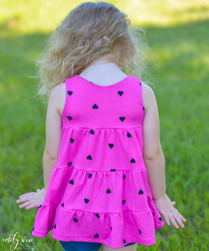 Mavis' Tiered Dress Sizes 2T to 14 Kids PDF Pattern