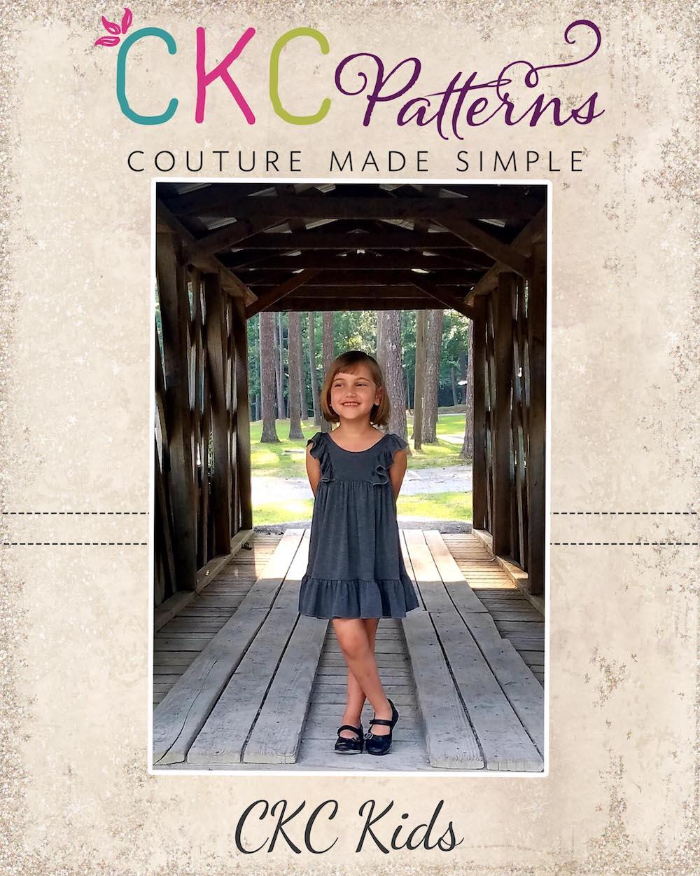 Marilla's Knit Dress & Maxi Sizes 2T to 14 Kids PDF Pattern