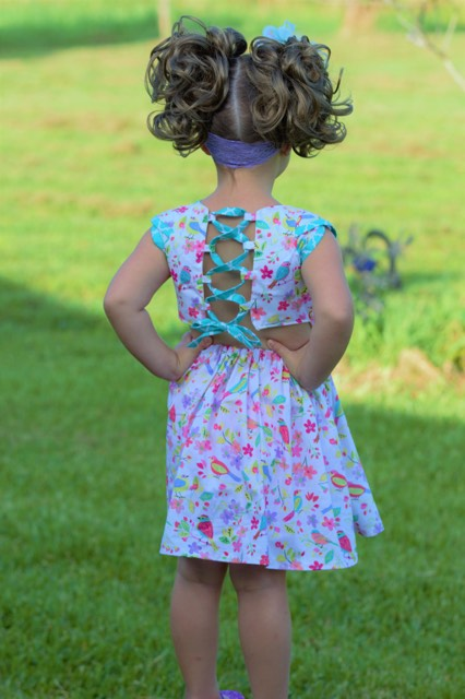 Healanni's Corset Top and Dress Sizes 2T to 14 Kids PDF Pattern