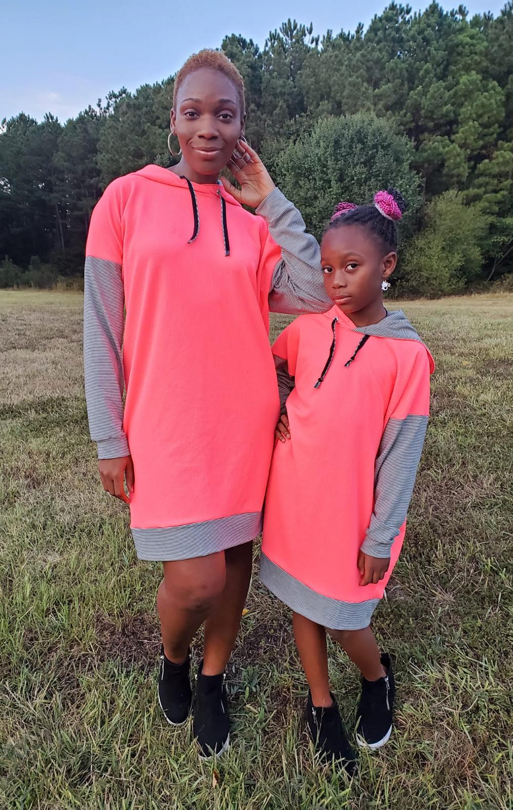 Maize's Oversized Shirt and Hoodie Sizes XXS to 3X Adults PDF Pattern