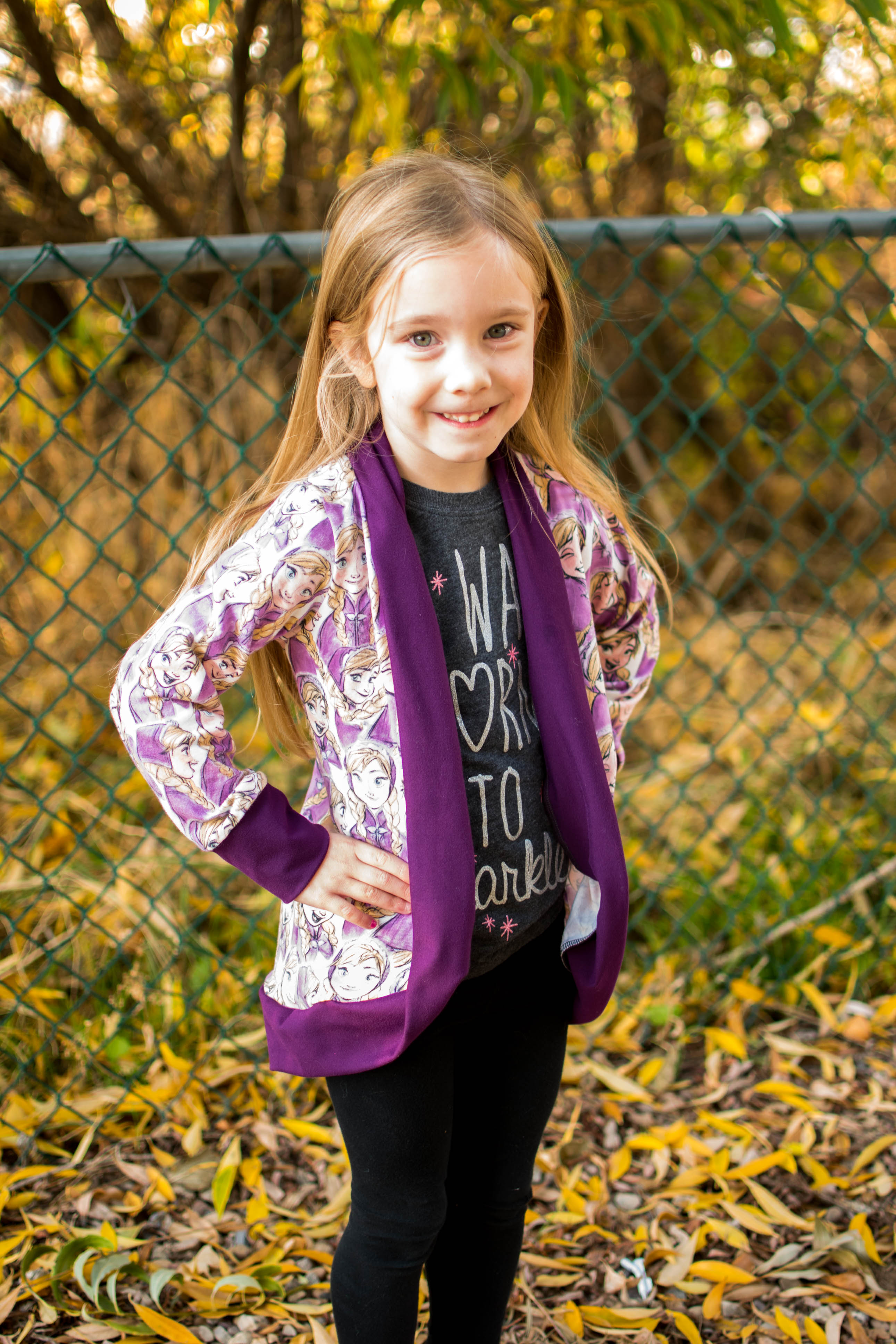 Chrysalis' Cardigan Sizes 2T to 14 Kids PDF Pattern