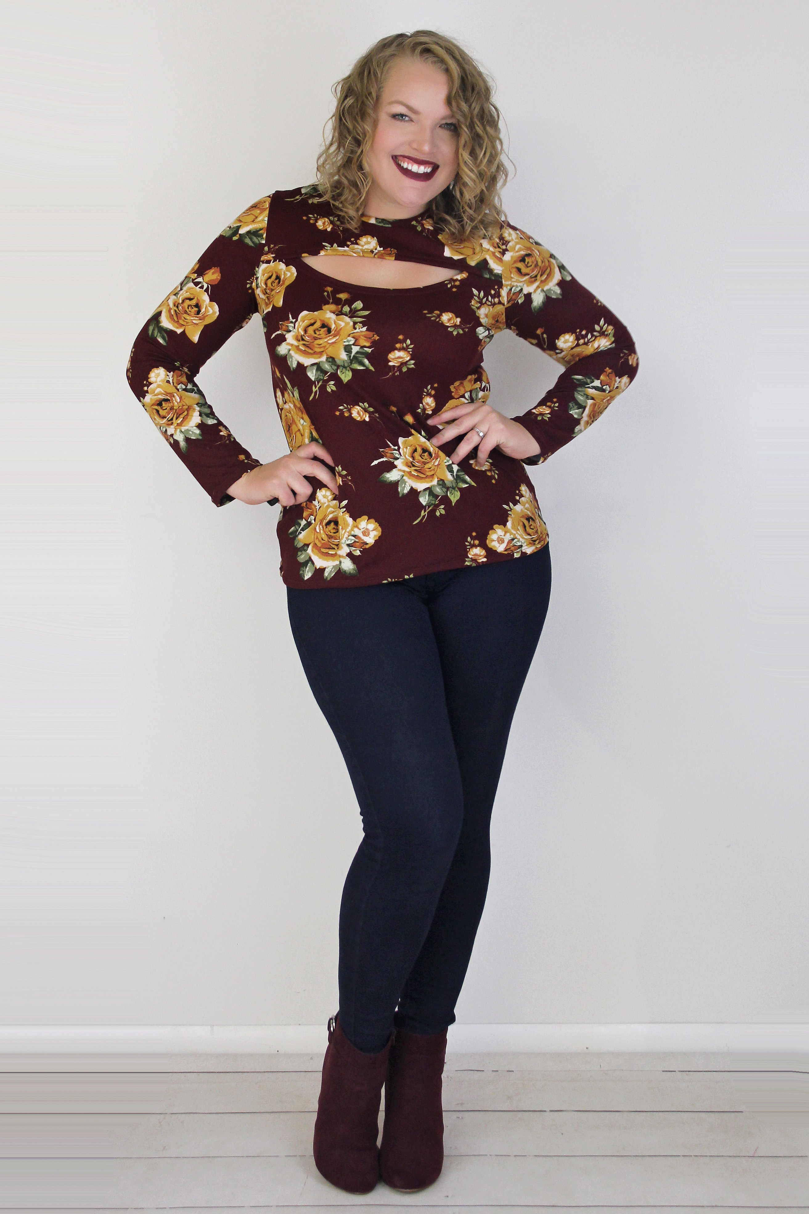 Kimora's Keyhole Top and Dress Sizes XXS to 3X Adults PDF Pattern