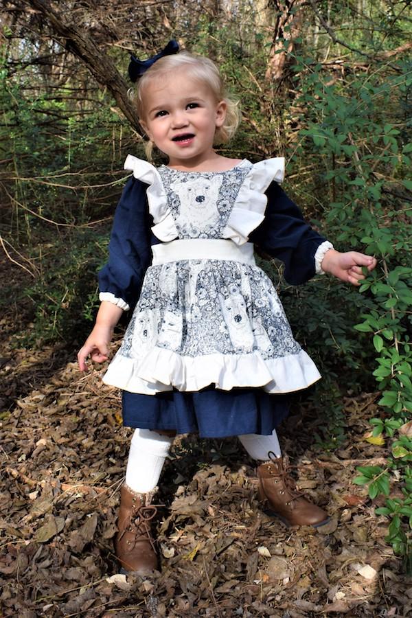 Cordelia's Dress Sizes 2T to 14 Kids PDF Pattern