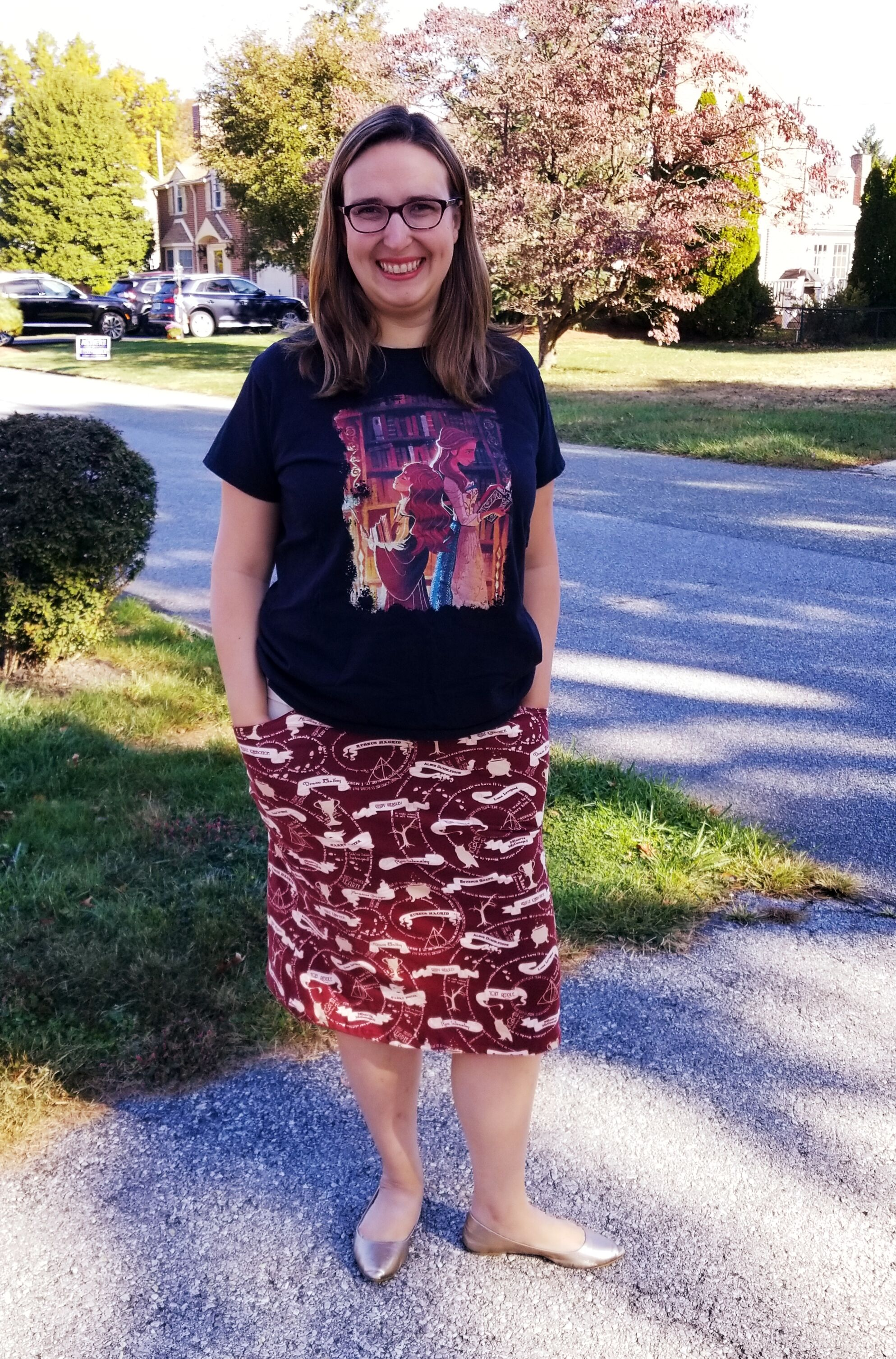 Olsen's Straight & Curved Hem Skirt Sizes XXS to 3X Adults PDF Pattern