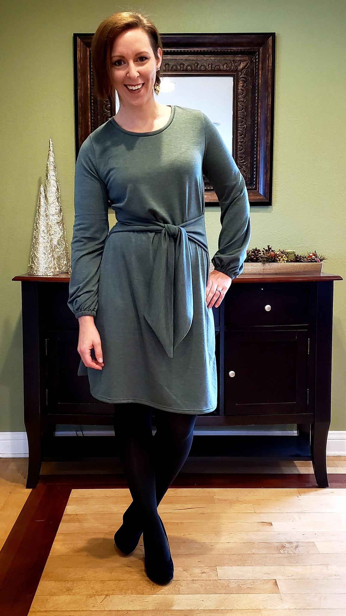 Lillith's Bishop Sleeve Top and Dress Sizes XXS to 3X Adults PDF Pattern
