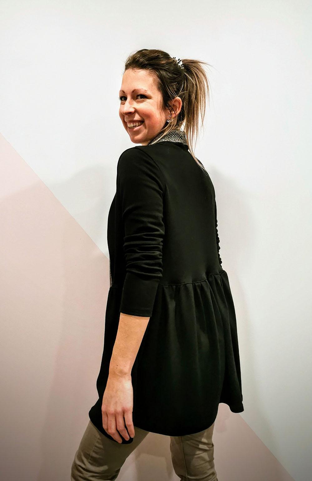 Susan's Swing Cardigan Sizes XXS to 3X Adults PDF Pattern