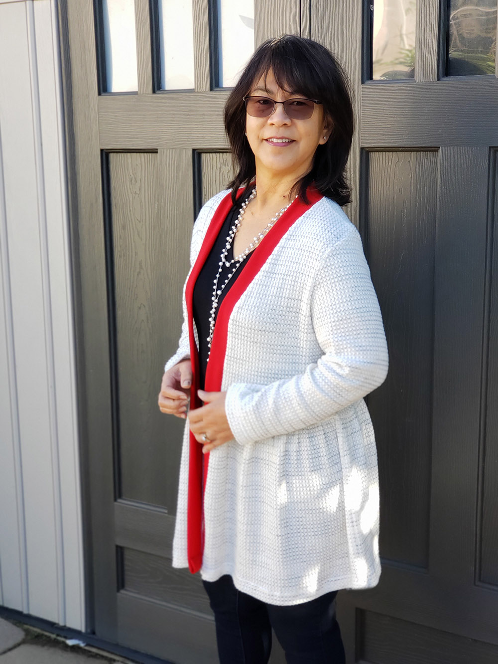 Susan's Swing Cardigan Sizes XXS to 3X Adults PDF Pattern