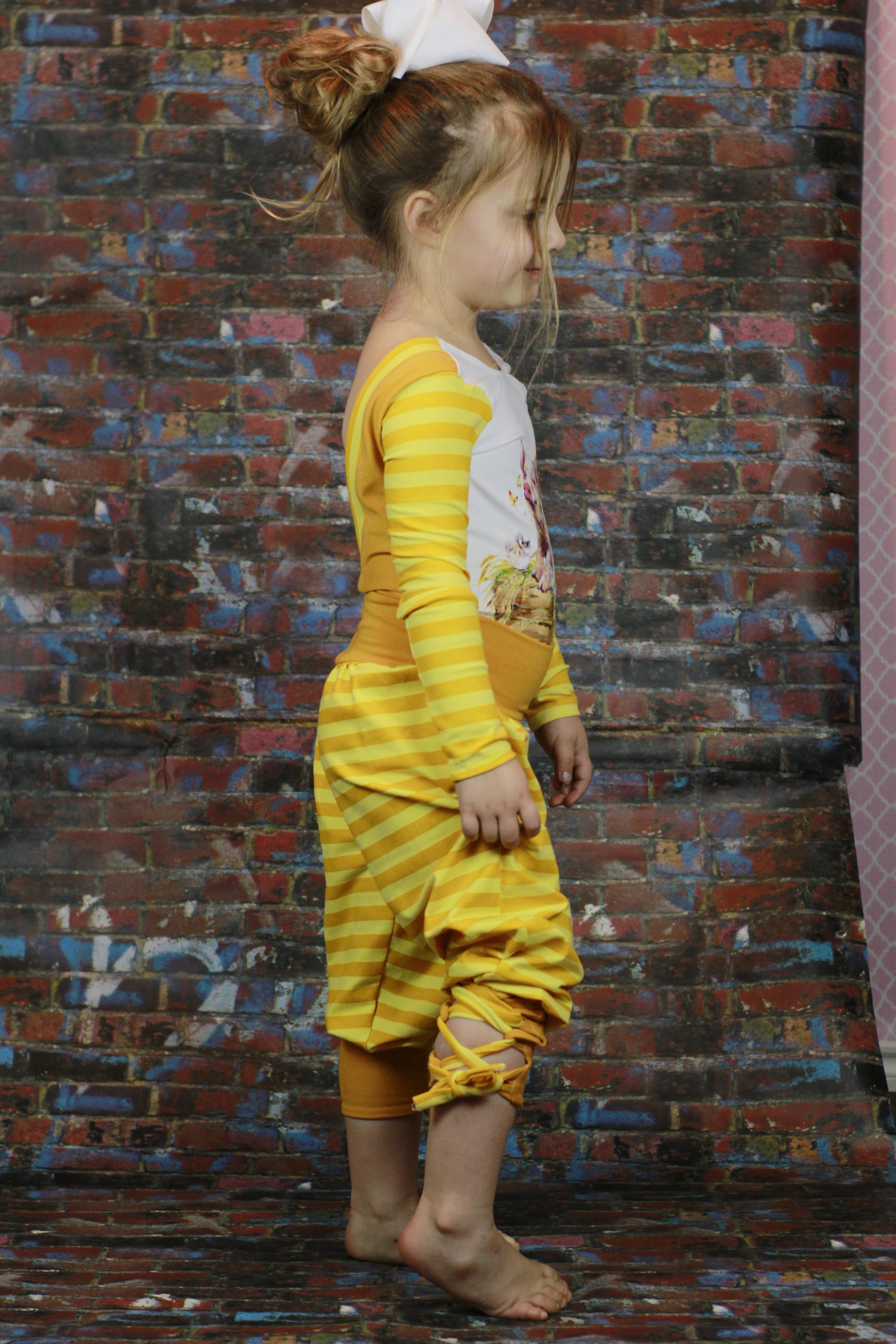 Echo's Yoga Pants Sizes 2T to 14 Kids PDF Pattern