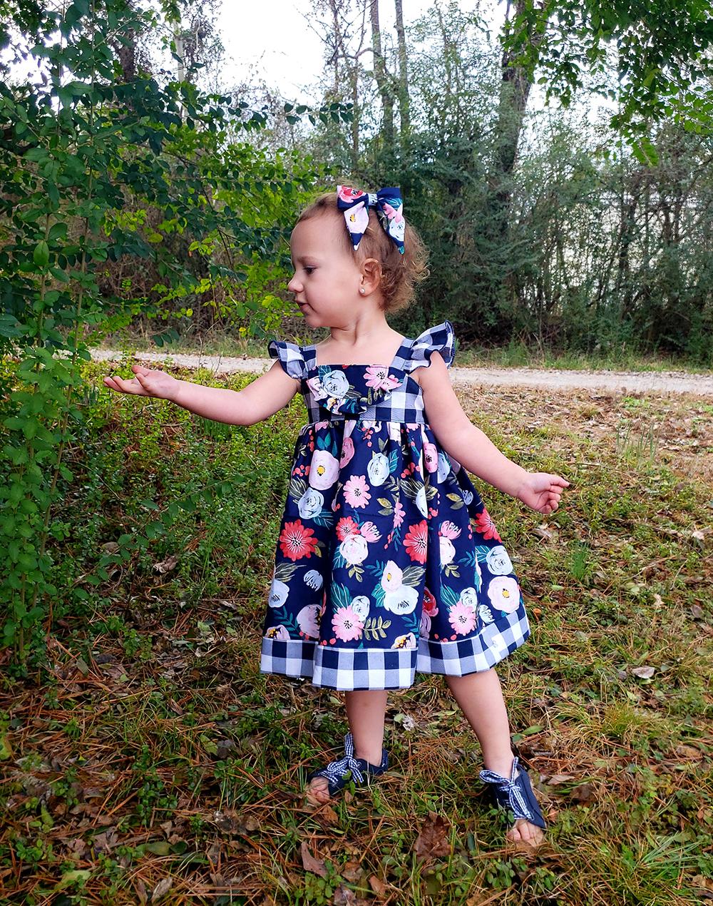 Ashlynn's Dress Sizes NB to 14 Kids PDF Pattern