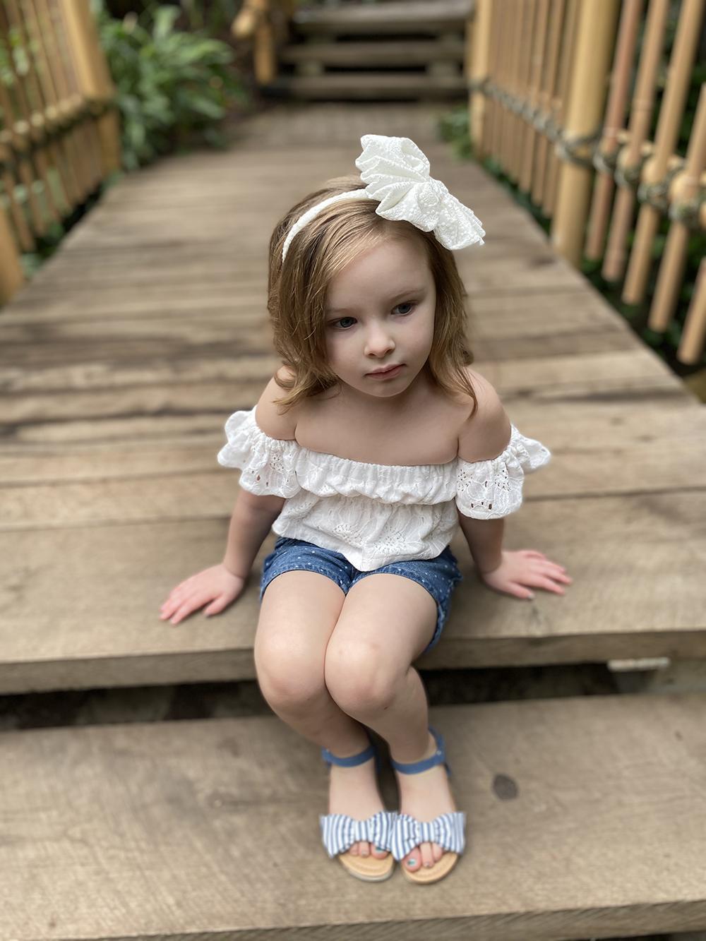Fleur's Crop Top, Shirt, and Dress Sizes NB to 14 Kids PDF Pattern