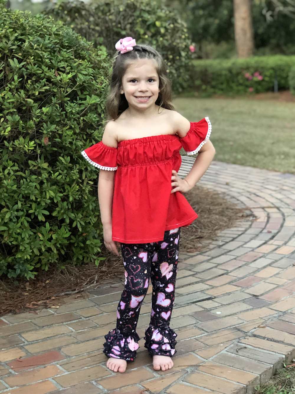 Fleur's Crop Top, Shirt, and Dress Sizes NB to 14 Kids PDF Pattern