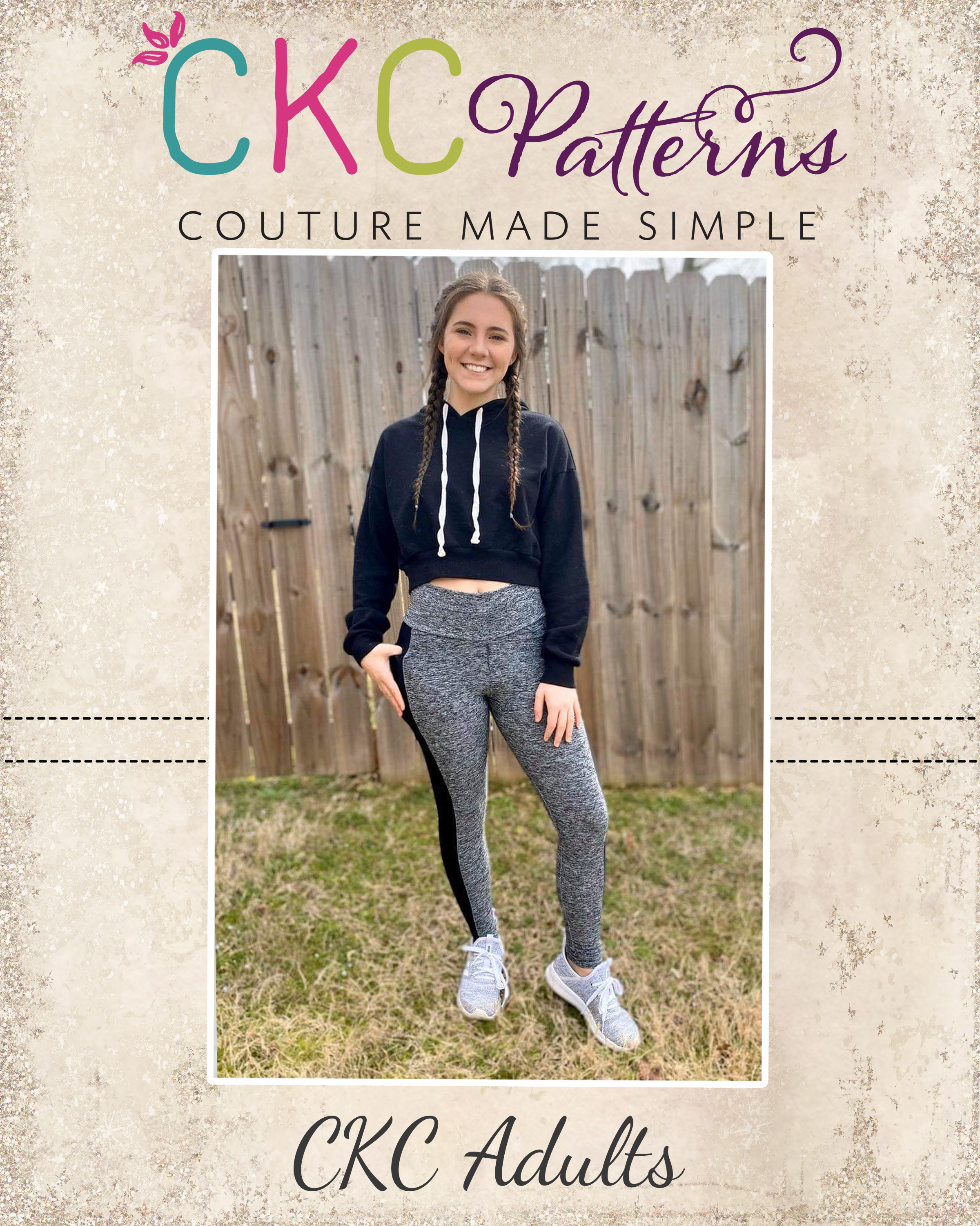 Lynndi's Pocket Performance Shorts, Capris, Crop and Pant Leggings Sizes XXS to 3X Adults PDF Pattern