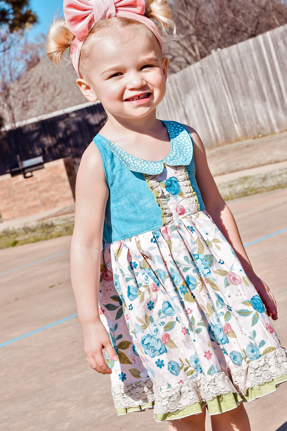 Mika's Boutique Halter Top and Dress Sizes NB to 14 Kids PDF Pattern