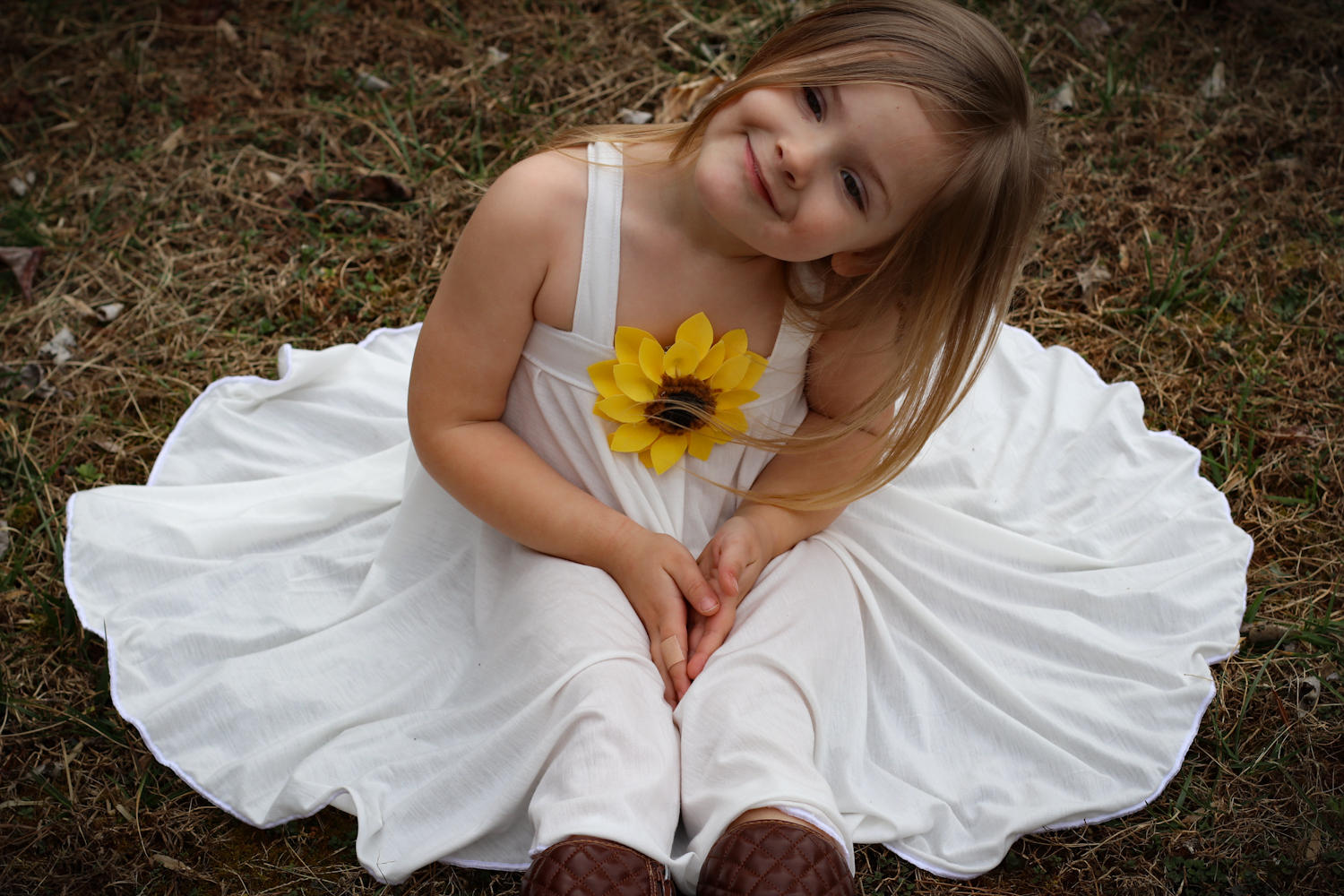 Sunflower's Swing Top, Tunic, and Dress Sizes 2T to 14 Kids PDF Pattern