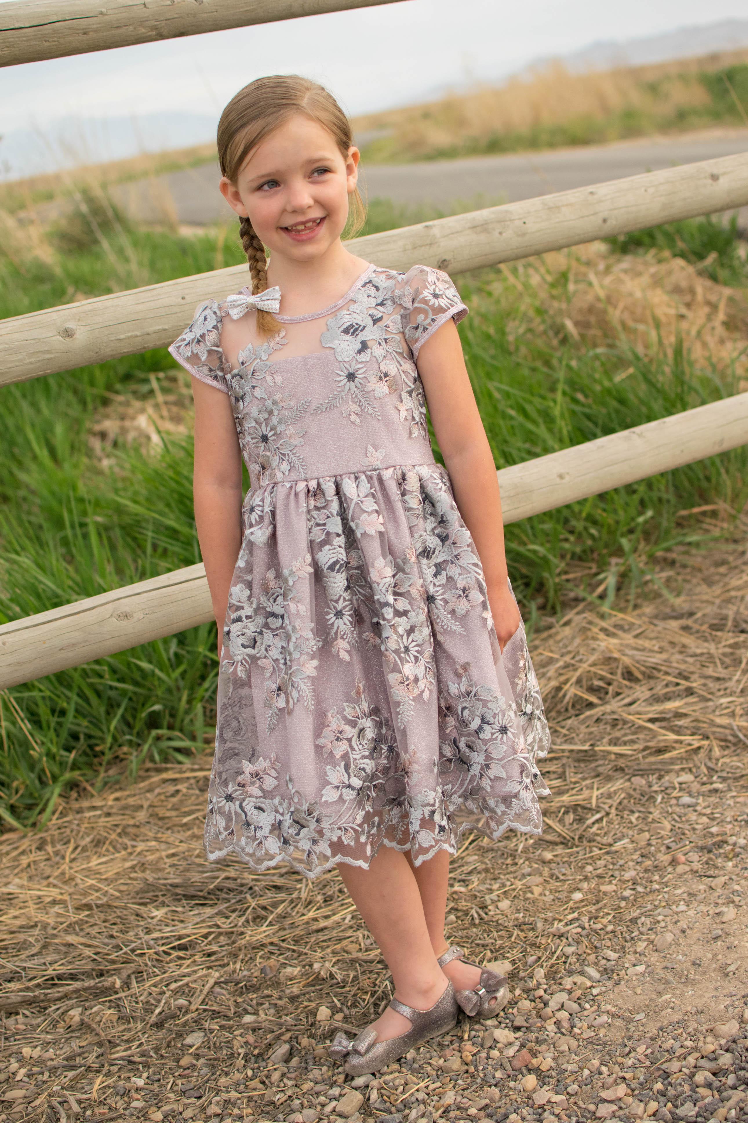 McKell's Majestic Dress Sizes 2T to 14 Kids  PDF Pattern