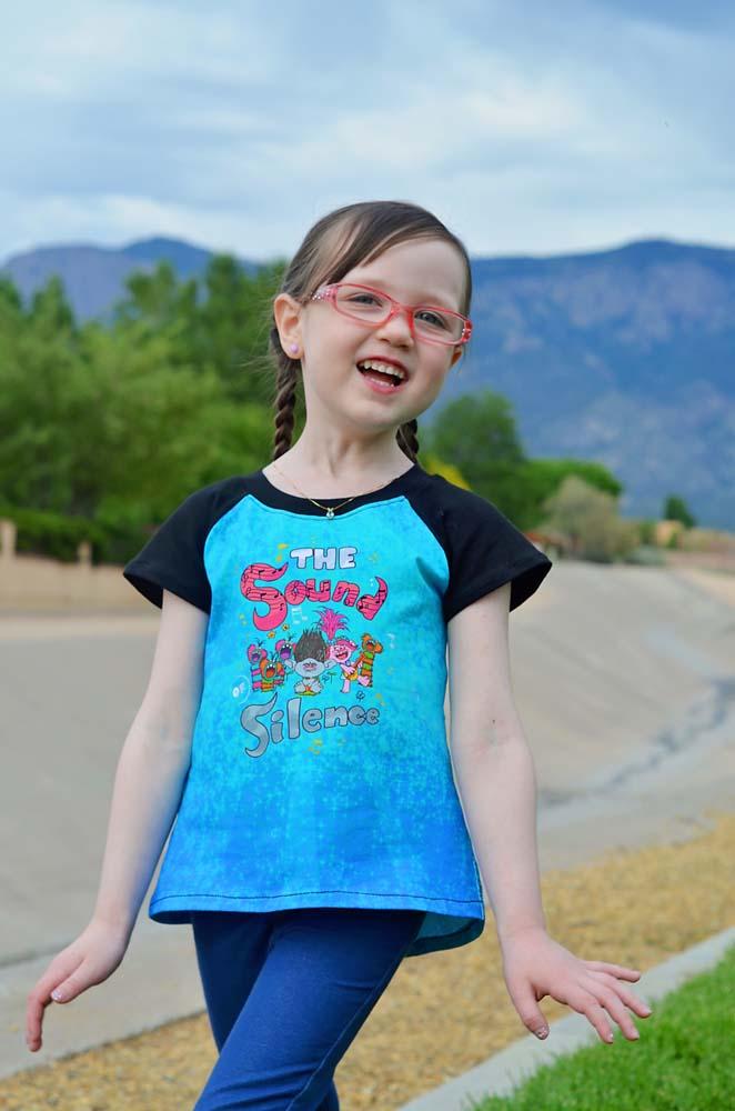 Urlotte's Pleated Back Raglan Sizes 2T to 14 Kids PDF Pattern