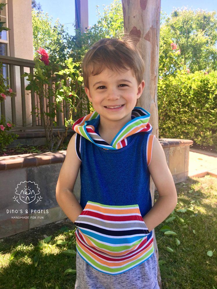 Hazen's Muscle Hoodie Sizes 2T to 14 Kids PDF Pattern