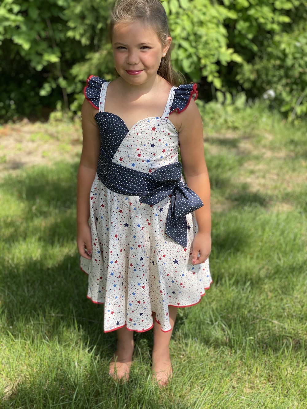 Alma's Adorable Dress Sizes 2T to 14 Kids PDF Pattern
