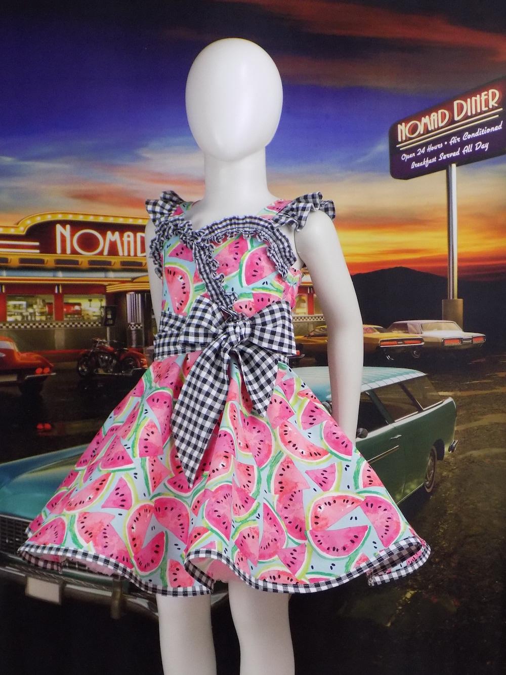 Alma's Adorable Dress Sizes 2T to 14 Kids PDF Pattern