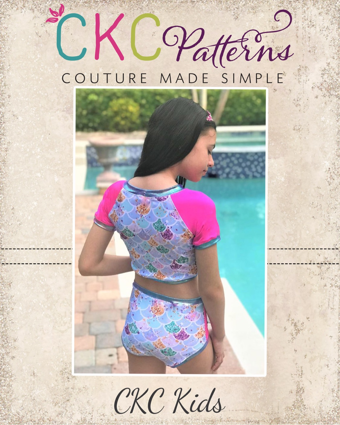 O'Shea's Oceanwear Sizes 2T to 14 Kids PDF Pattern