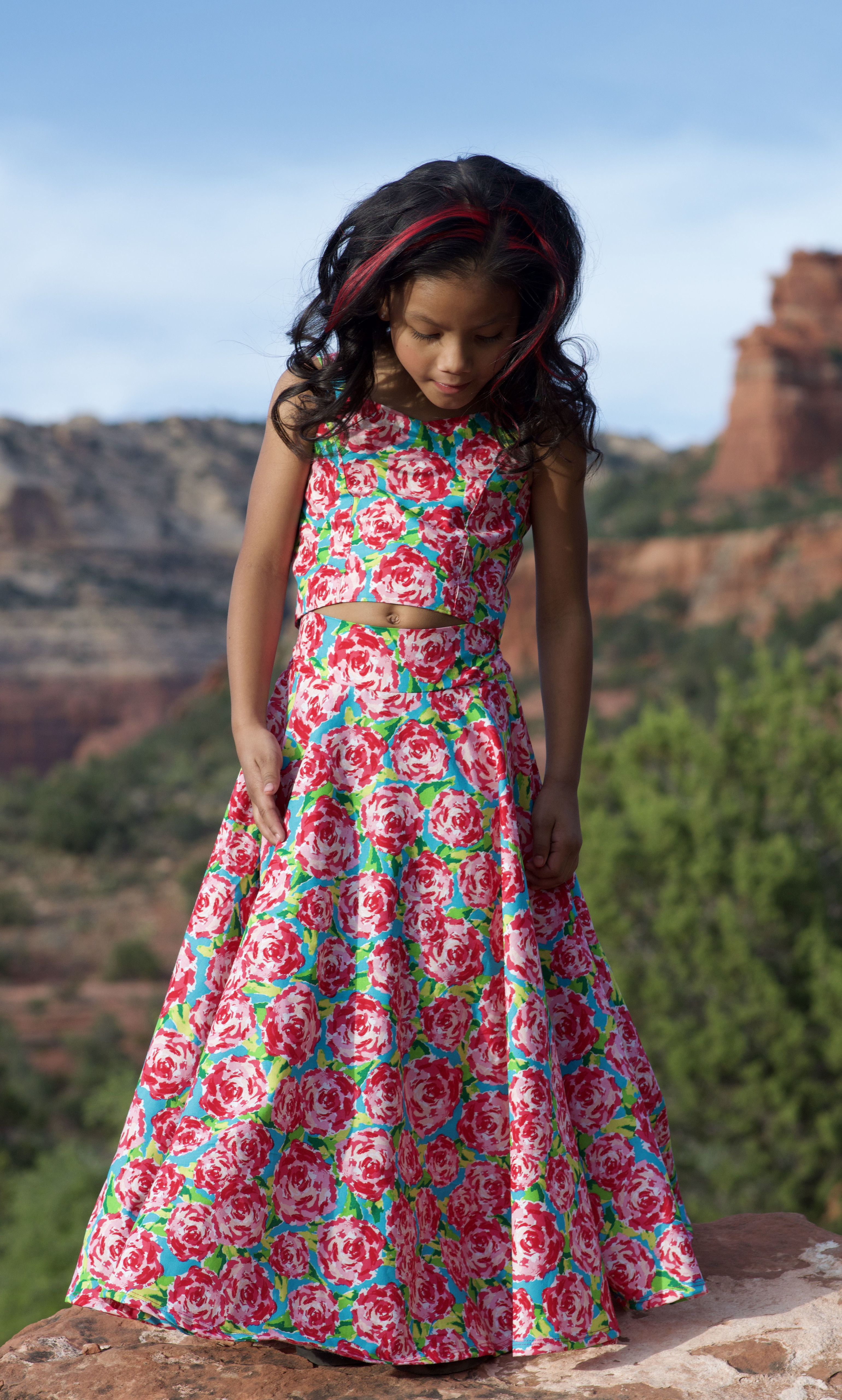 KaraLeigh's Dress Sizes 2T to 14 Kids PDF Pattern