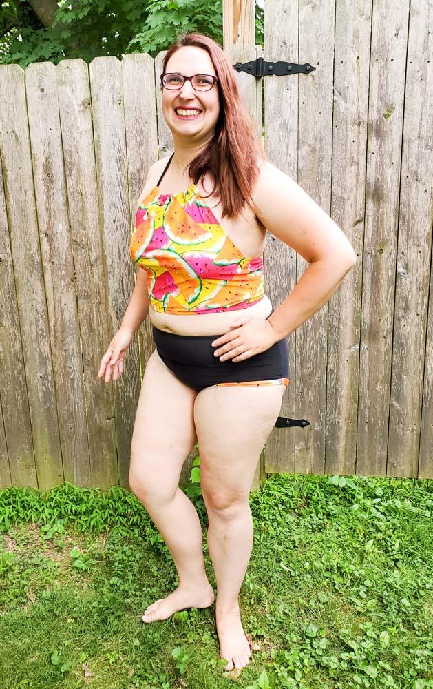 Olive's Old Fashioned Bikini Sizes XXS to 3X Adults PDF Pattern