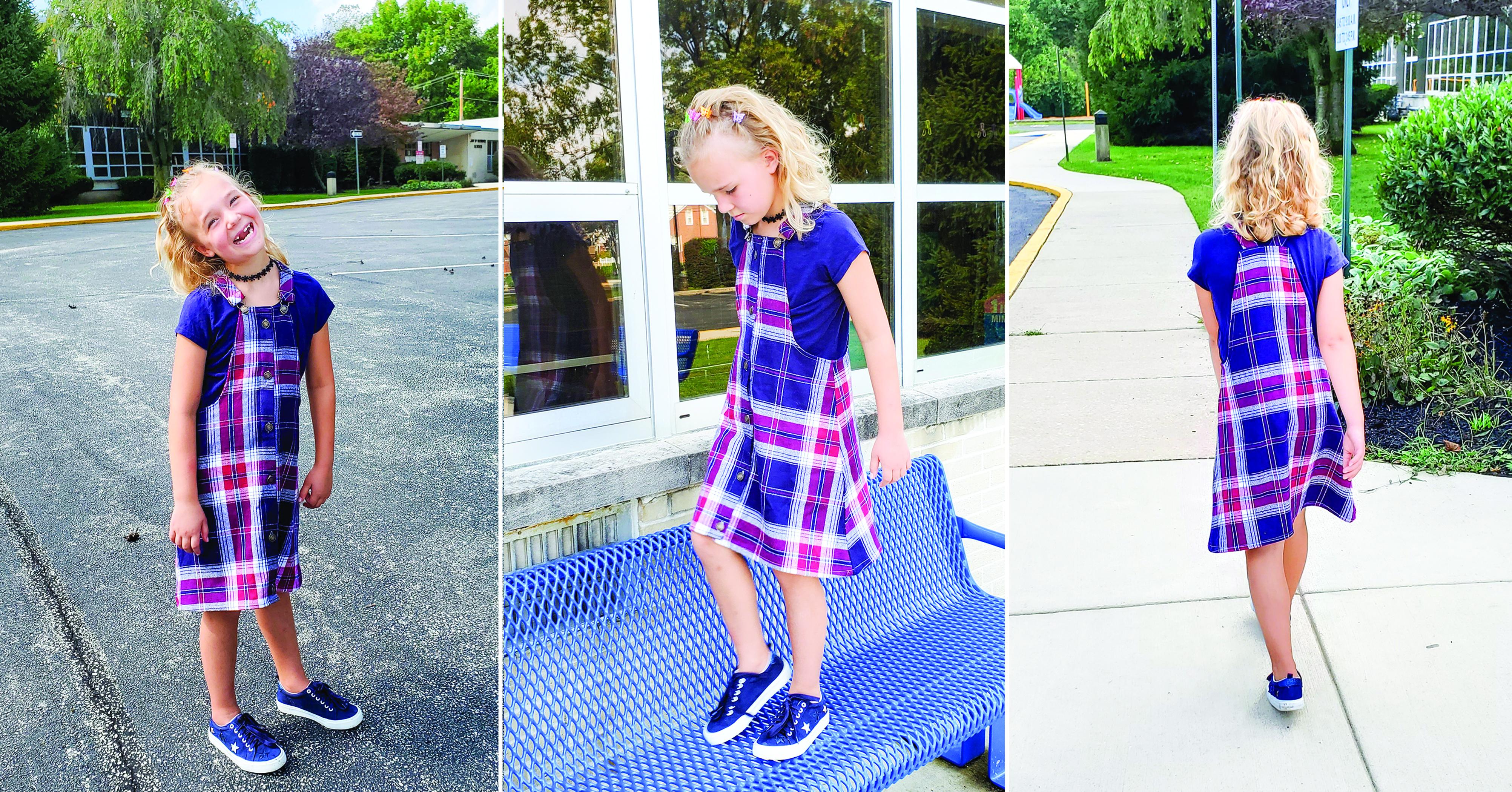 Alanis' Buttondown Overall Jumper 2T to 14 Kids PDF Pattern