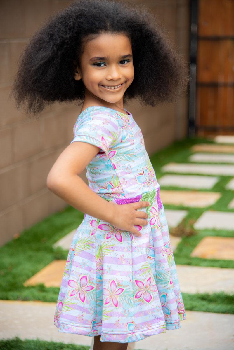 Carousel's Dress Sizes NB to 14 Kids PDF Pattern