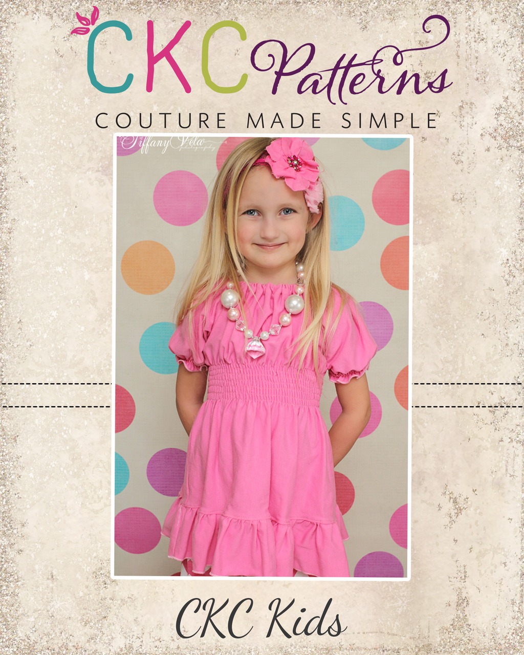 Kayla's Knit Ruffle Top and Dress Sizes 6/12m to 15/16 Kids and Dolls PDF Pattern