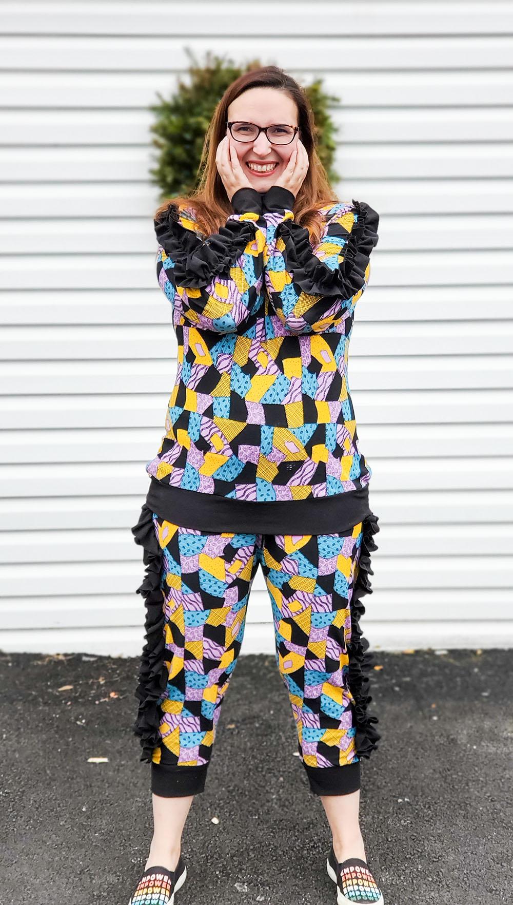 Jaffle's Jogging Suit Set Size XXS to 3X Adults PDF Pattern