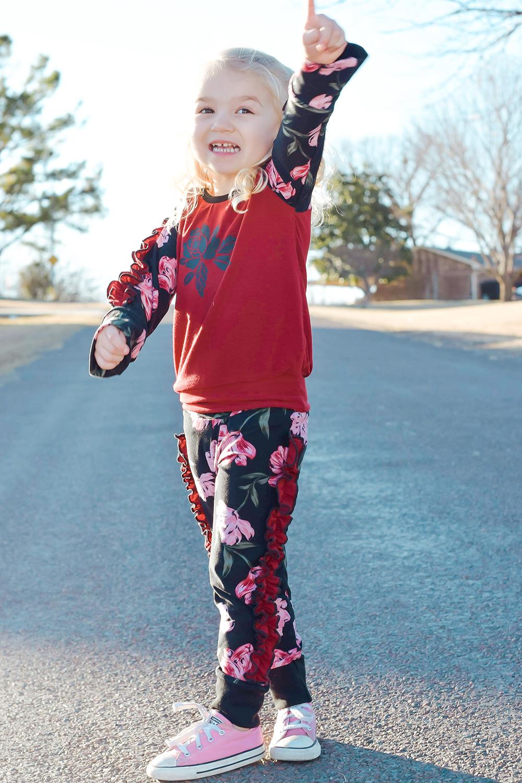Jaffle's Jogging Suit Set Size 2T to 14 Tweens PDF Pattern
