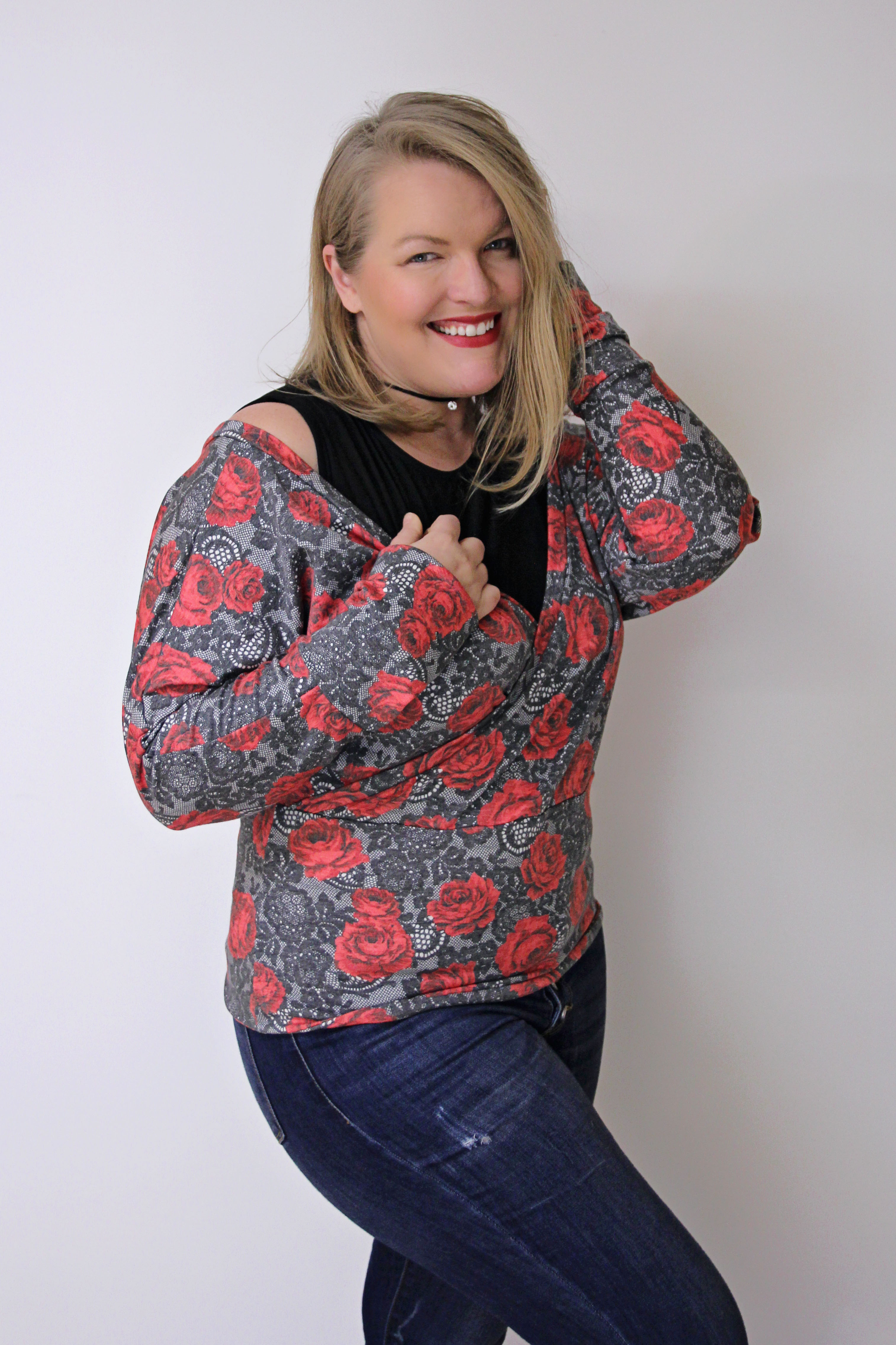 Mira's Layered Sweater Sizes XXS to 3X Adults PDF Pattern