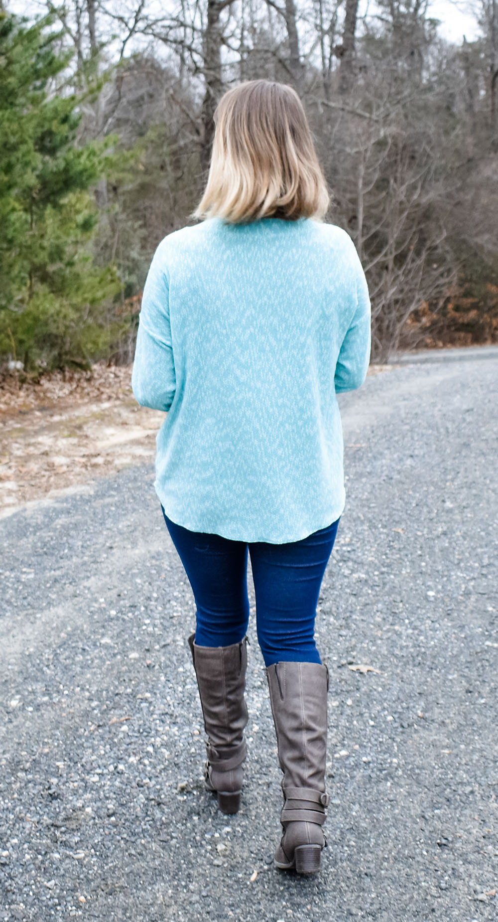 Lisette's Lace-Up Sweater Sizes XXS to 3X Adults PDF Pattern