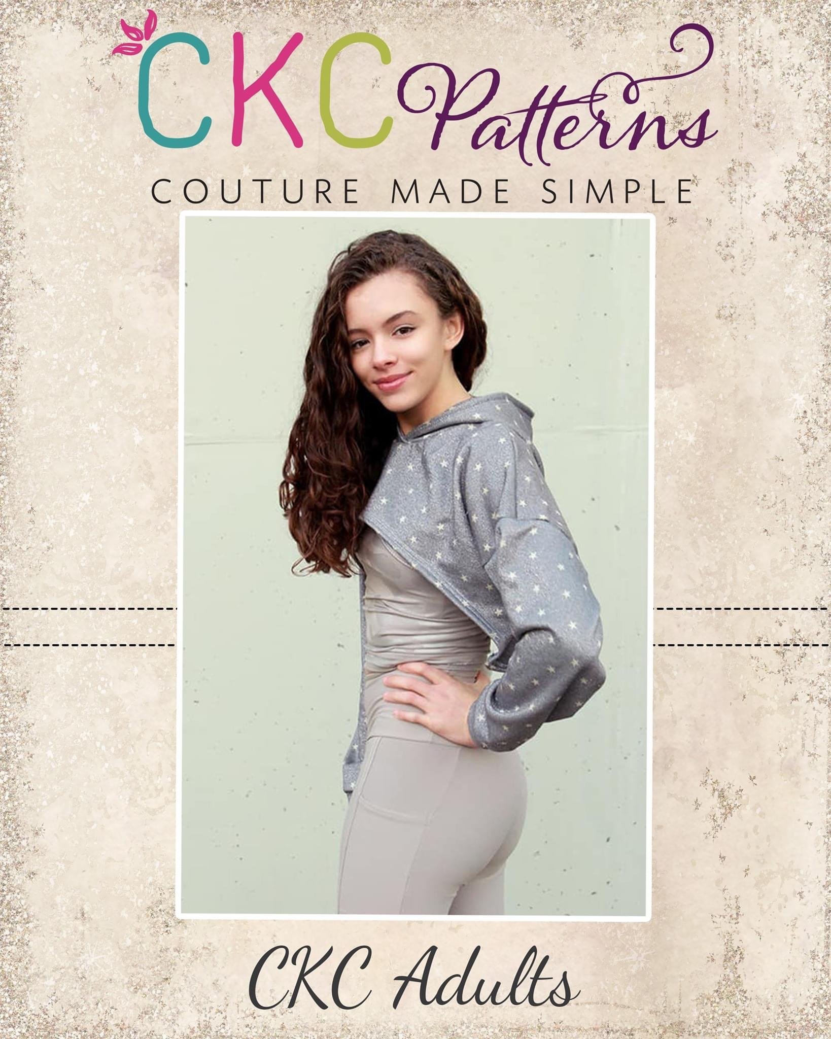 Colleen's Cropped Pullover Sizes XXS to XL Adults PDF Pattern