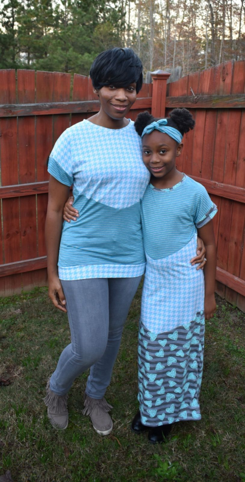 Valley's Top, Tunic Dress, Midi and Maxi Sizes 2T to 14 Kids PDF Pattern