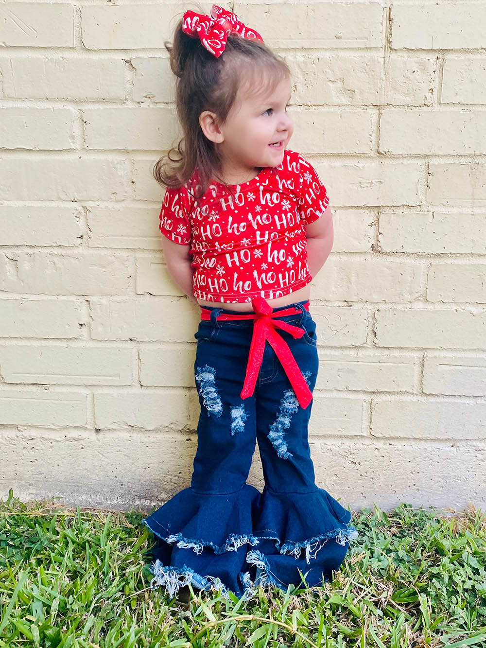Rae's Ringer Crop Top, Tee, and Dress Sizes 2T to 14 Kids PDF Pattern