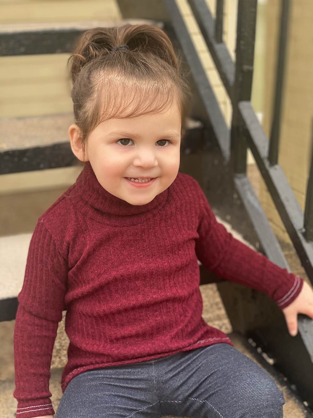 Prague's Classic Turtleneck Top and Dress Sizes 2T to 14 Kids PDF Pattern