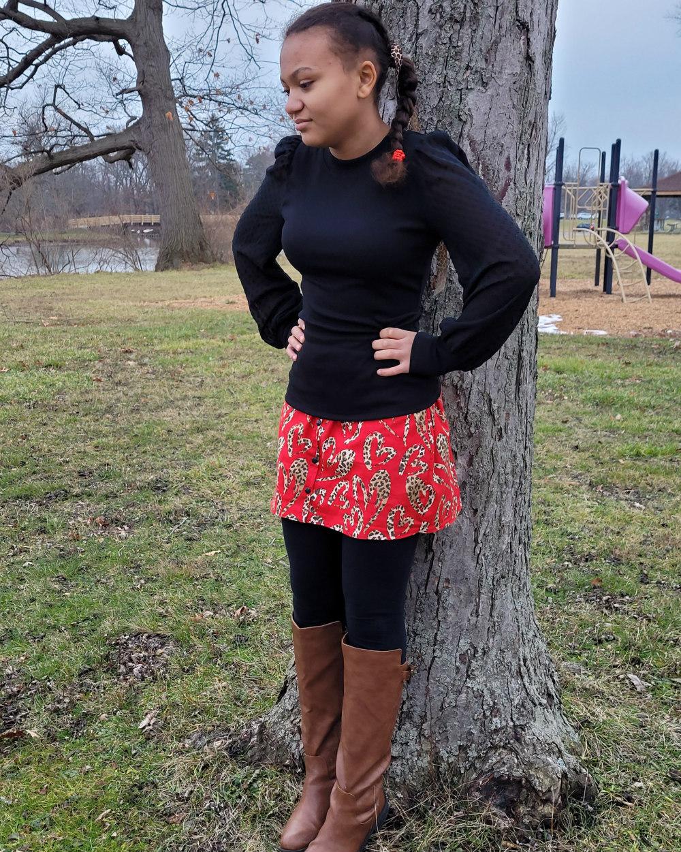 Velma Sue's Shirt Extender Sizes XXS to 3X Adults PDF Pattern