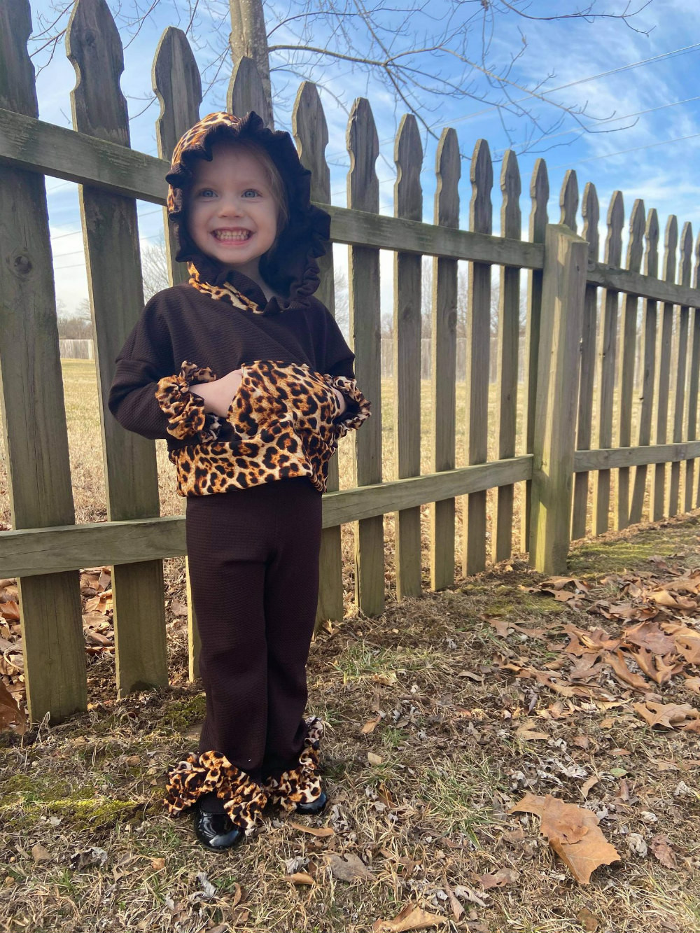 Aruba's Loungewear Set Size 2T to 14 Kids PDF Pattern
