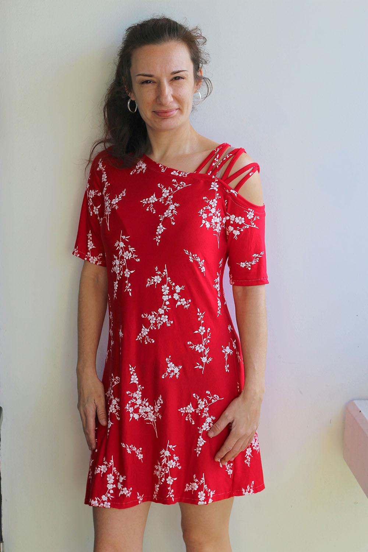Claudia's Strappy Shirt, Tunic, and Dress Sizes XXS to 3X Adults PDF Pattern